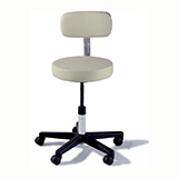 RITTER 271 Manual Screw Adjustable Physician Stool. MFID: 271-001
