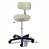 RITTER 273 Air Lift Physician Stool with back. MFID: 273-001