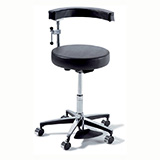 RITTER 278 Air Lift Surgeon Stool- Foot Operated. MFID: 278-001