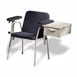 RITTER Blood Draw Chair (with storage drawer). MFID: 281-012