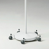 Mobile caster base for Ritter 250 Exam Light. MFID: 9A621001