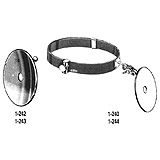 "MILTEX FRANKEL Headband & Mirror Set, Includes 3-1/2"" Mirror, 1/2"" Aperture & 1-244 Head Band. MFID: 1-240"