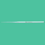 "MILTEX BUCK Ear Curette, 6-1/2"" (16.5 cm), straight, sharp, size 0. MFID: 19-262"