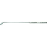 MILTEX Laryngeal Mirror size 00, boilable, with octagon threaded handle, 12 mm. MFID: 23-2-00