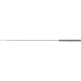"MILTEX BARR Fistula Probe, 8"" (20.3 cm) sterling shaft, eye at tip, 11-1/2"" (29.2 cm) overall. MFID: 28-104"