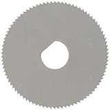 MILTEX Replacement Blade for Finger Ring Cutter (#33-140), chrome. MFID: 33-142