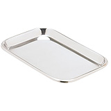 "MILTEX Mayo Tray, Size 10, Non-Perforated, 10"" x 6-1/2"" x 23/32"". MFID: 3-926"