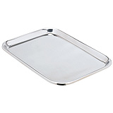 "MILTEX Mayo Tray, Size 13, Non-Perforated, 14"" x10"" x 5/8"". MFID: 3-927"