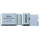 MILTEX Blade-Safe Surgical Blade Remover, safely removes blades from handles, protecting hands. MFID: 4-100