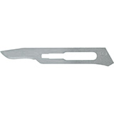 MILTEX Carbon Steel Sterile Surgical Blades no. 15, 100/box. MFID: 4-115