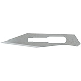 MILTEX Stainless Steel Sterile Surgical Blade no. 25, 100/box. MFID: 4-325