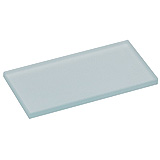 "MILTEX Dental Mixing Slabs, Frosted Glass, (4"" x 2"" x .25""). MFID: 558-25875"