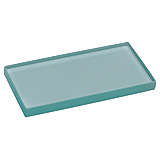 "MILTEX Dental Mixing Slabs, Clear Glass, (6"" x 3"" x .5""). MFID: 558-25890"