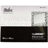 INTEGRA HeliMend Advanced Collagen Membrane for Dental Surgery, 30mm x 40mm. MFID: 62-208