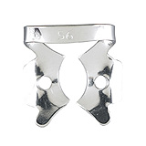 MILTEX Dental Dam Clamp, Molars, Style 56. MFID: 76D-56