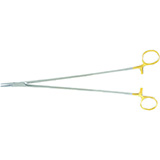 "MILTEX CRILE-WOOD Needle Holder, 12"" (30.5cm), serrated jaws, 2600 teeth PSI, Carb-N-Sert. MFID: 8-57TC"