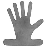 "PADGETT Brueckmann Orthopedic Hand, Lead, Reusable, Length= 10-3/4"" (273 mm), Width= 9-1/2"" (241 mm). MFID: PM-710"