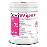 METREX CaviWipes Disinfecting Towelettes, 220 Wipes per Canister . MFID: 10-1090