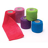 "Pro Advantage Cohesive Bandage, Assorted Colors, 1"" x 5 yds. MFID: P158010"
