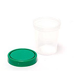 Pro Advantage Urine Specimen Container, Screw-On Lid, 4 oz, Non-Sterile. MFID: P250415