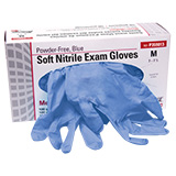 Pro Advantage Soft Nitrile Exam Glove, Medium, Blue. MFID: P359023