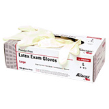 Pro Advantage Latex Exam Glove, Powder Free (PF), X-Small. MFID: P359101