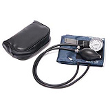 Pro Advantage Deluxe Aneroid Sphygmomanometer, Small Adult, Black, Latex Free. MFID: P548210