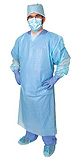 Pro Advantage Impervious Gown, Regular, Thumb Loop, Blue. MFID: P704110