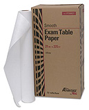"Pro Advantage Exam Table Paper, 21"" x 225 ft, White, Smooth. MFID: P750021"