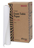 "Pro Advantage Exam Table Paper, 21"" x 125 ft, White, Crepe. MFID: P751021"