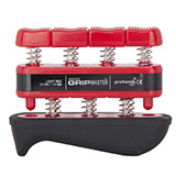 GripMaster REHAB Hand/Finger Exerciser- Red (3 lbs / 1.4 kgs) Light. MFID: GMR-RD