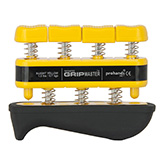 GripMaster REHAB Hand/Finger Exerciser- Yellow (1.5 lbs / 0.7 kgs) X-Light. MFID: GMR-YL