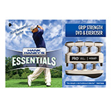 Hank Haney's PRO Hand/Finger Exerciser & DVD Set for Golf- Black (9 lbs). MFID: HH-GBK
