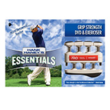 Hank Haney's PRO Hand/Finger Exerciser & DVD Set for Golf- Red (7 lbs). MFID: HH-GRD