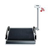 SECA 664 Collapsible Digital Wheelchair Scale w/castors (800 lb). MFID: 6641321103