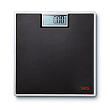 SECA 803 Digital Floor Scale for Individual Patient Use - Black. MFID: 8031321009