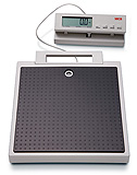 SECA 869 Electronic Flat Scale with Cable Remote Display (550 lbs). MFID: 8691321004