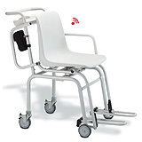 SECA 954 Wireless Digital Chair Scale with wheels & Swivel Armrests (660 lbs). MFID: 9541309007 ** Additional SALE Available- Contact us for Details**