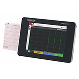 Schiller Cardiovit FT-1 Portable Electrocardiograph (ECG), Touch Screen & Interpretation. MFID: 0A.106000