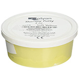 Therapy Putty 4 oz container- Yellow / Soft Resistance. MFID: 5074