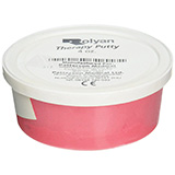 Therapy Putty 4 oz container- Red / Medium-Soft Resistance. MFID: 5075
