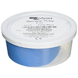 Therapy Putty 4 oz container- Blue / Firm Resistance. MFID: 5077
