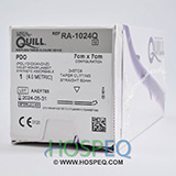 QUILL PDO Suture, Straight Taper Cutting, 1, 7cm x 7cm, 50mm. MFID: RA-1024Q