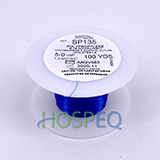 LOOK 5-0 Non-Absorbable Polypropylene Suture Spool, Blue Monofilament, 100 yd. MFID: SP135