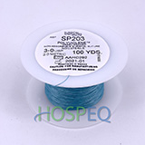 LOOK 1 Non-Absorbable Polyviolene Suture Spool, Green Braid, Uncoated, 100 yd. MFID: SP206