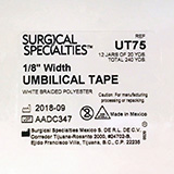 "LOOK Umbilical Tape, 1/8"", 1 Dozen (20 yd Jar), 12 Jars/case. MFID: UT75"