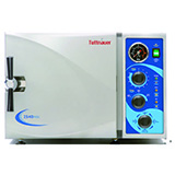 "Tuttnauer Manual Kwiklave, Quick Cycle 10"" Diameter x 19"" Depth Chamber, 6 Gallons. MFID: 2540MK"