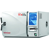 "Tuttnauer Kwiklave Automatic Autoclave, Quick Cycle, 10"" Diameter x 19"" Depth Chamber, 6 Gallons with Printer. MFID: EZ10KP"