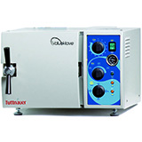 "Tuttnauer ValueKlave Manual Autoclave/ Sterilizer, 7"" Diameter x13"" Depth Chamber, 2 Gallons. MFID: ValueKlave1730"