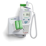 Welch Allyn SureTemp Plus 690 Electronic Thermometer, Wall Mount, 9 ft Oral Probe. MFID: 01690-300